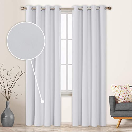 Best window curtain panel: Deconovo Total Blackout Curtains 96 Inch Long
