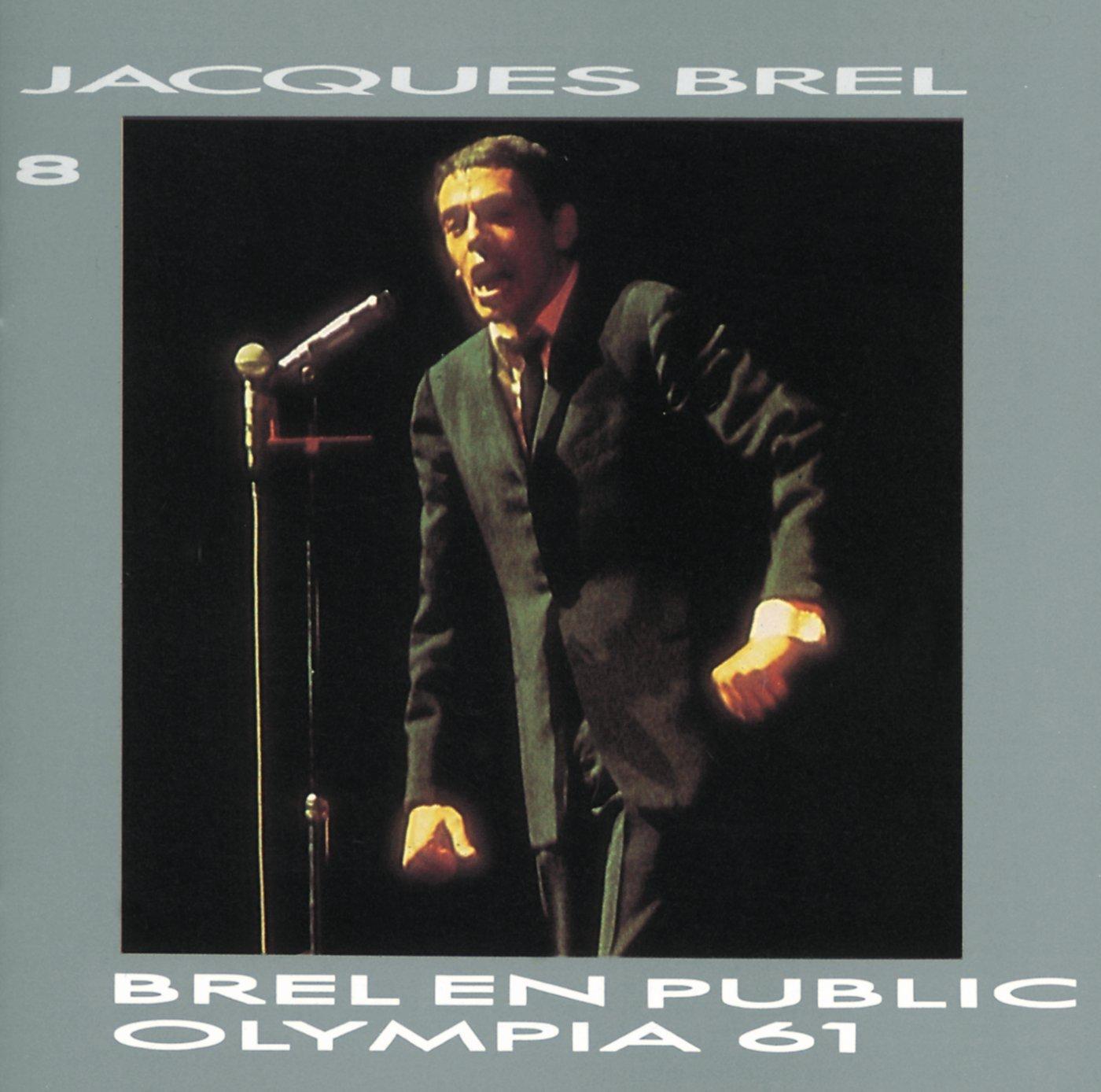 Brel En Public Olympia 1961 Vol 8 by Barclay