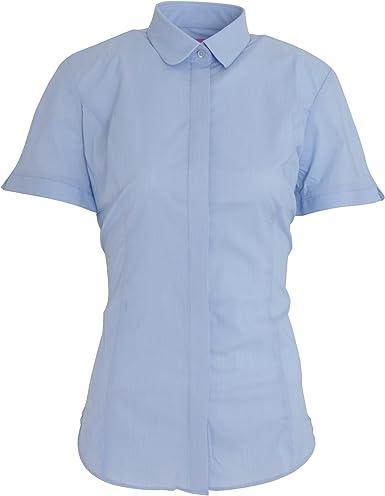 Brook Taverner - Camisa de popelín de manga corta modelo