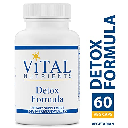 Vital Nutrients – Detox Formula – Specially Designed Formula for Liver and Detoxification Support – 60 Capsules