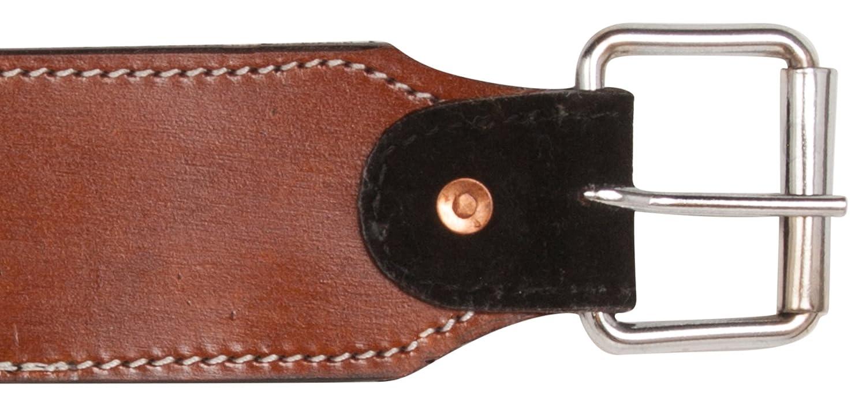 New Amaretto Western Leather Horse Saddle Back Cinch Bucking Strap GIRTHS Billet Keeper