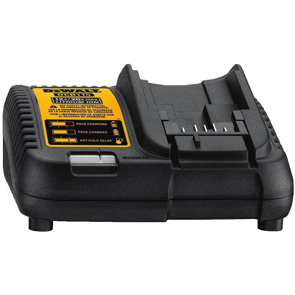 DEWALT DCB115 MAX Lithium Ion Battery Charger, 12V-20V - - Amazon.com