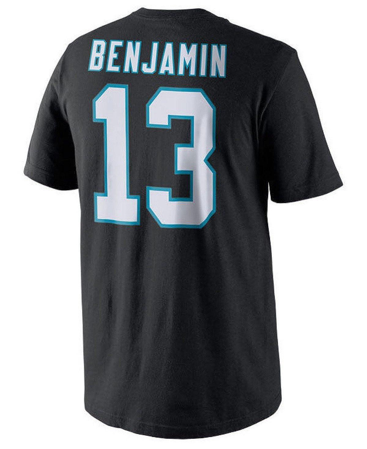 f295d9df Nike Kelvin Benjamin Carolina Panthers #13 NFL Youth Name & Number T-Shirt