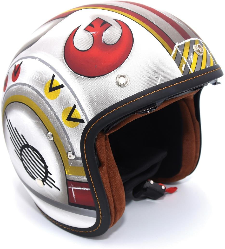 Amazon.com: HJC IS-5 Star Wars X-Wing Fighter Pilot Limited Edition Motorcycle Helmet XL: Automotive
