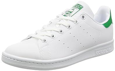 Adidas - Adidas Stan Smith Weiss Grun - Weiss 44