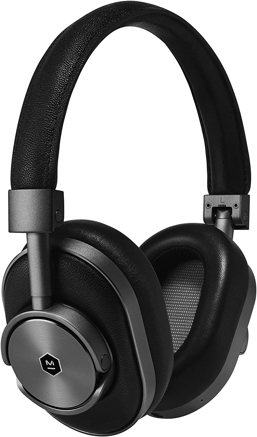Master & Dynamic MW60 Wireless Bluetooth Foldable Headphones - Premium Over-The-Ear Headphones - Noise Isolating - Portable