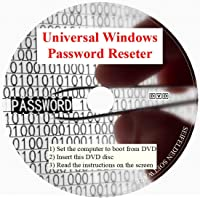 Recovery Boot Password Reset USB -Better Than CD Disk- Works on All Windows Versions 10/7/XP/Vista/2000/98/ - No Internet Connection Required-Reset Lost Password-Windows Based (DVD-DISC, DVD-DISC)