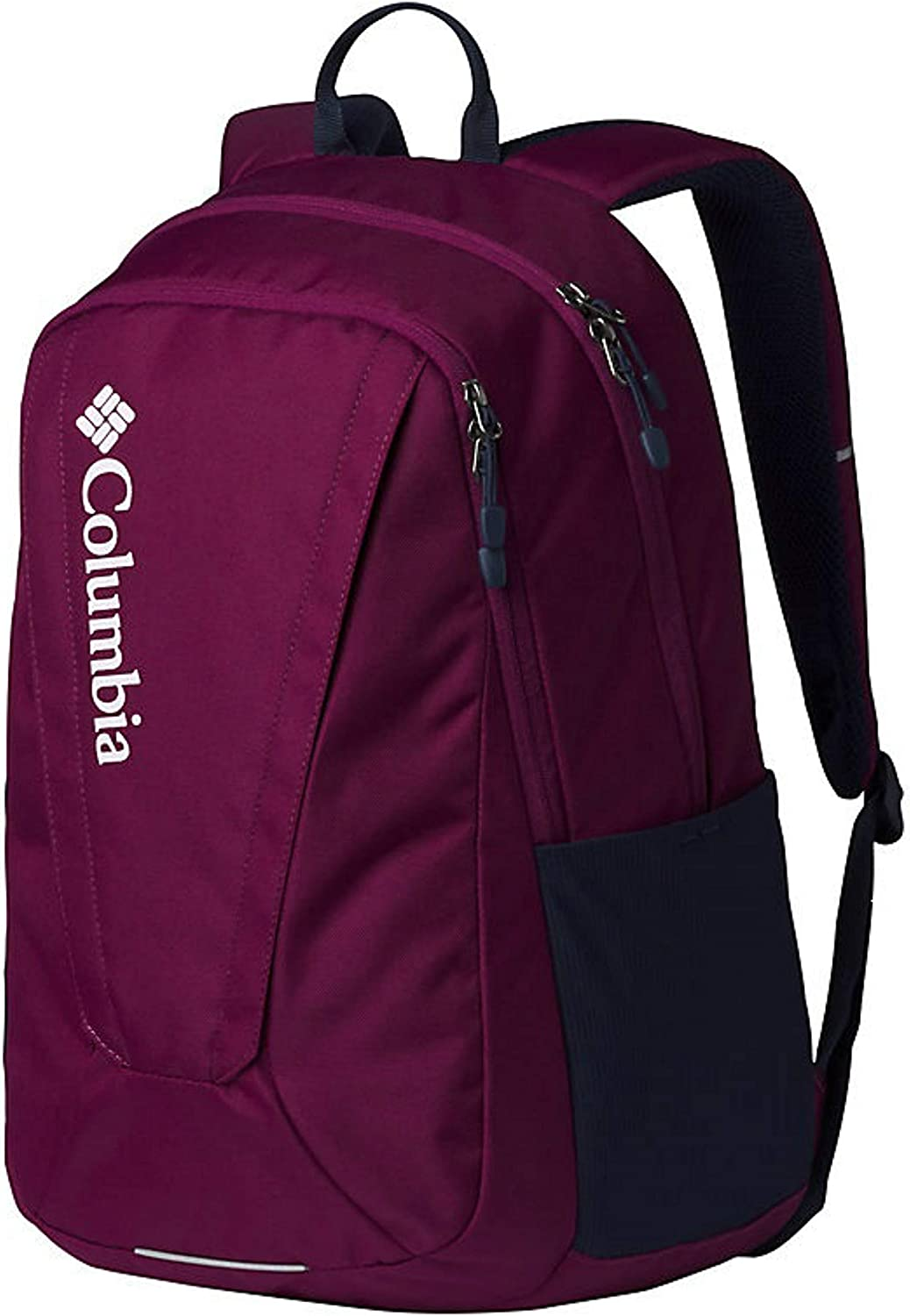 Columbia Unisex Tamolitch II Daypack Laptop School Student Backpack (Dark Raspberry/Navy)