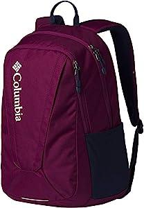 Columbia Unisex Tamolitch II Daypack Laptop School Student Backpack (Dark Raspberry/Navy)