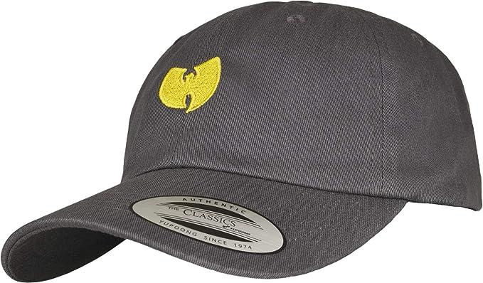 Unisex Wu Wear logo beanie hat WU005 heather grey One Size