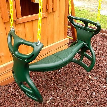 Amazon Com Best Kids Toddler Swing Set Glider Seat Chair Rider Fun