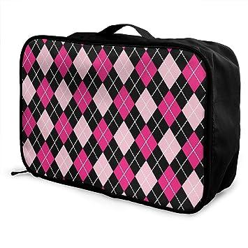 Amazon.com: Bolsa de equipaje portátil de doble plato en ...