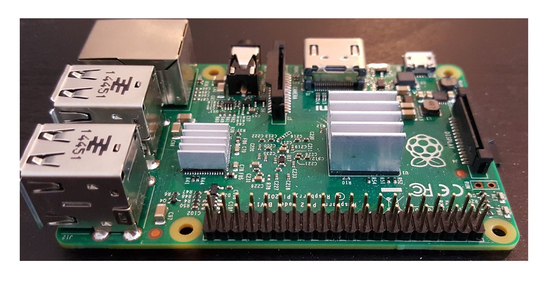 Raspberry Pi 2 Model B Quad Core 1GB RAM Single Board Computer with Heatsinks