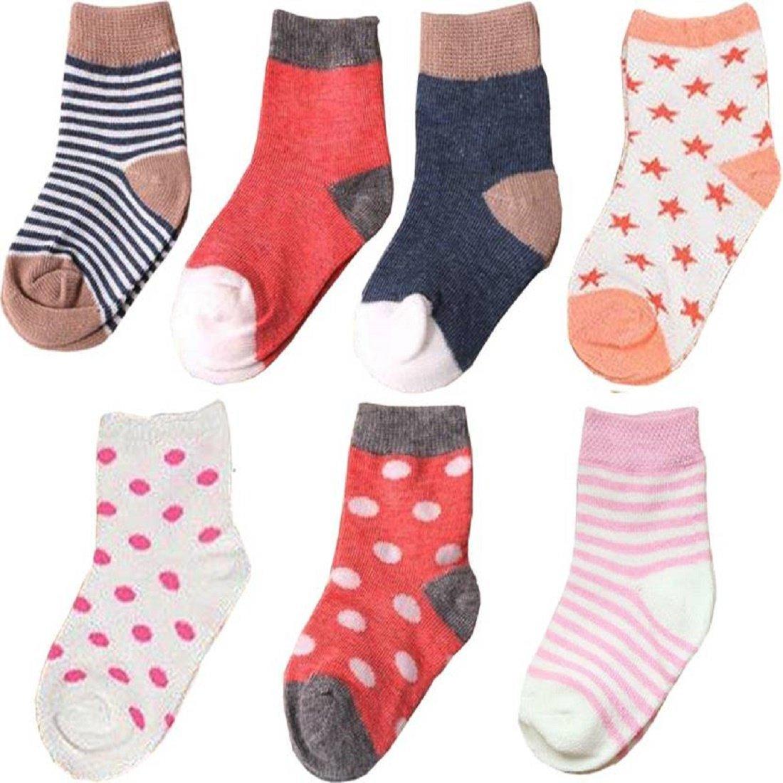 1fcbd7c01 Chinmay Kids 7 Days Baby Soft Cotton Socks (Set of 1)  Amazon.in  Baby