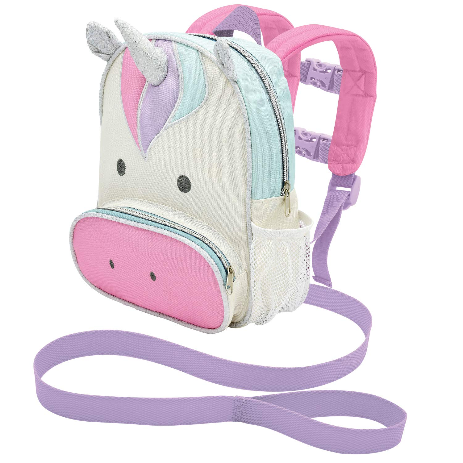 On the Goldbug Deluxe Character Backpack & Toddler Harness (Unicorn)