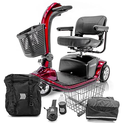 Amazon.com: Victory 9 Pride Mobility 3-Wheel – Patinete ...