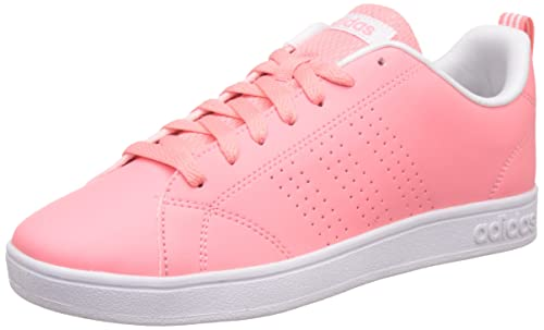 timeless design ce191 ae43a adidas neo Womens Advantage Clean Vs W Raypnk, Raypnk and Ftwwht Sneakers  - 6 UK