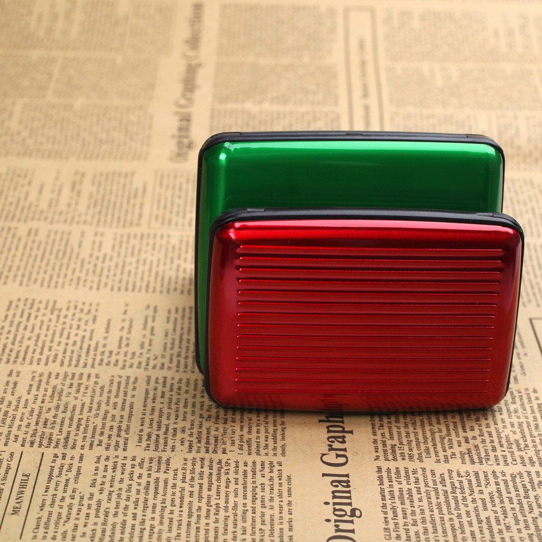 ECB0303 Firebrick Green Unisex Mejor Moda de aluminio de la tarjeta de cartera Carteras - 2 tama?os disponibles por Epoint: Amazon.es: Ropa y accesorios
