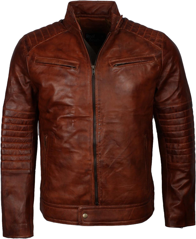 Black /& Brown 80s Vintage Long Leather Blazer Jacket Size M E D I U M