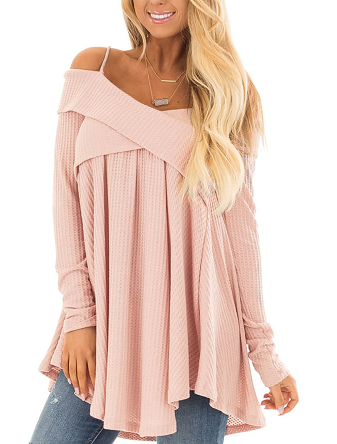 80d1070550864a Soft and breathable fabric.Classy high quality fabric,very soft to touch  and wear. Fashionable Strap Cold Shoulder Blouse Tops,It also has ...