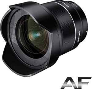 SAMYANG Single focus wide angle lens AF 14 mm F 2.8 Corresponding to automatic focus for Sony αE Full size support