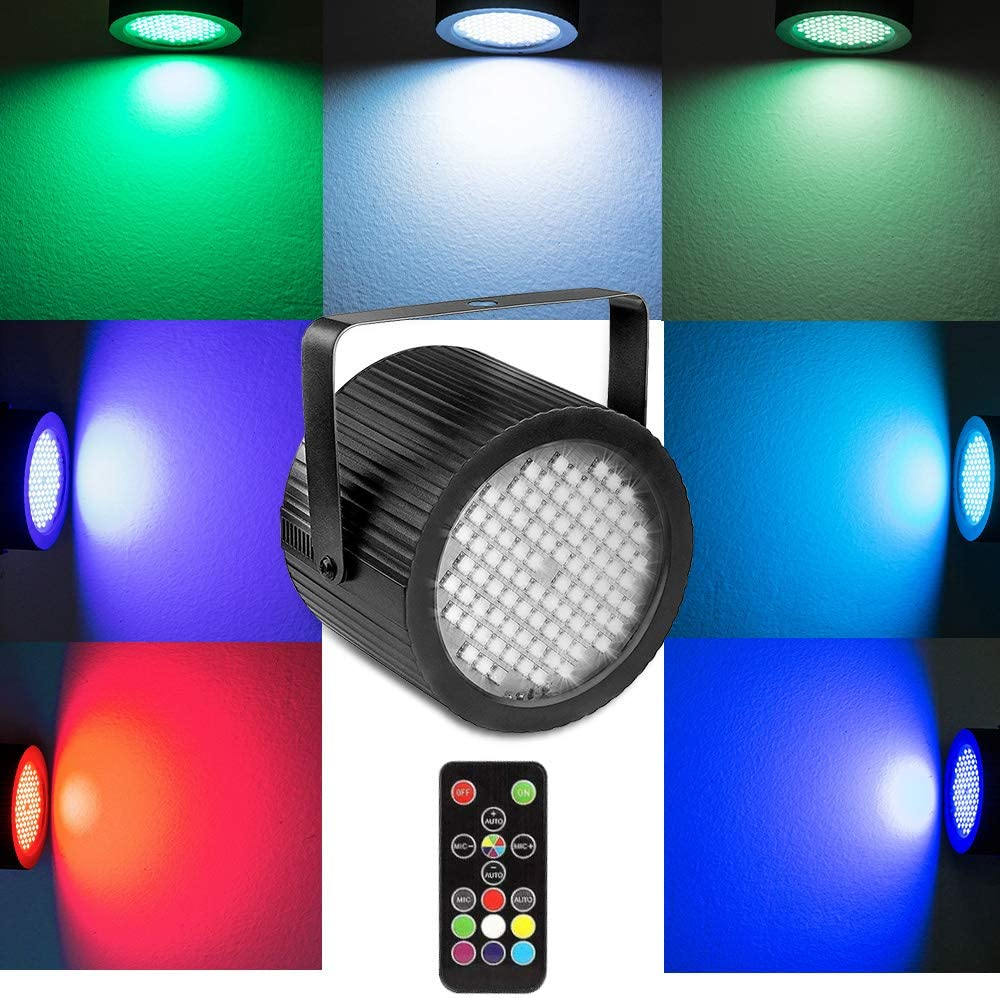 softeen Sound Activated DJ Strobe Light with Wireless Remote Control