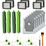 RONGJU 20 Pack Replacement Parts for iRobot Roomba i7 i7+ i6+ i8 i3+/Plus E5 E6 E7 Vacuum Cleaner, 2Pack Multi-Surface…