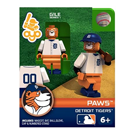 972dadf9 Amazon.com : OYO MLB Detroit Tigers Paws Mascot Figure : Sports Fan Toy  Figures : Sports & Outdoors
