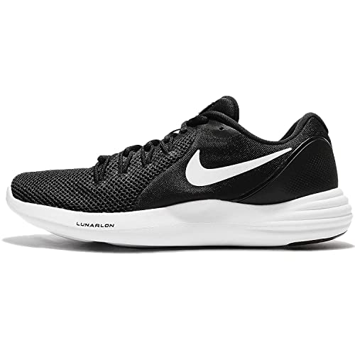 318ee89c9a6d Nike Men s Lunar Apparent Running Shoe Black White-Cool Grey 12  Buy Online  at Low Prices in India - Amazon.in