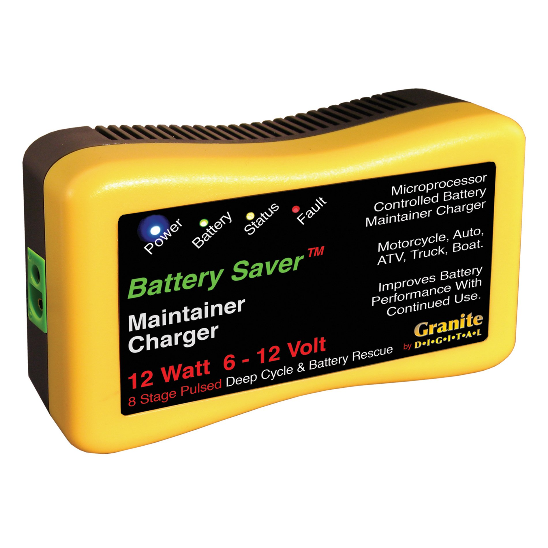 Battery Saver 6259 12W Pulse Battery Maintainer/Charger with Battery Rescue and 20' Extension Cables by Battery Saver (Image #7)