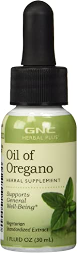 GNC Herbal Plus Oil of Oregano, 1 fl. oz.