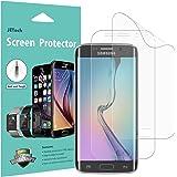 JETech 2-Stück Samsung Galaxy S6 Edge Schutzfolie Displayschutzfolie Folie [Vollständige Abdeckung] TPE HD