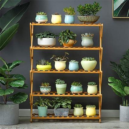 Puesta en escena terraza estante planta estante Plantador de ...
