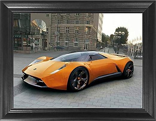 "Mclaren Sports Car poster wall art home decor photo print 24x24/"" inches"