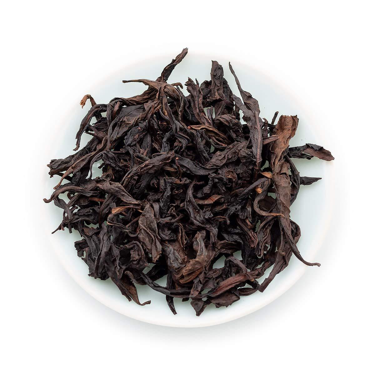Oriarm 250g / 8.82oz Da Hong Pao Oolong Tea Loose Leaf - Fujian Wuyi Rock Tea Big Red Robe - Wulong Chinese Tea Leaves - Detox Relaxing Naturally Grown