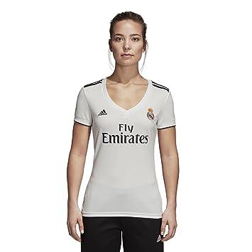 3290641e569d6b adidas 2018 19 Womens Real Madrid Home Replica Jersey Small