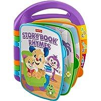 Fisher-Price Libro interactivo de aprendizaje, juguete bebé +6 meses (Mattel FRC69)
