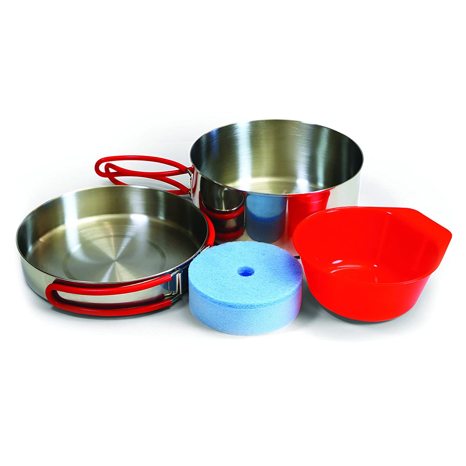 Coghlans Single Person Stainless Mess Kit Multiple Coghlans 1930 Stainless Silver