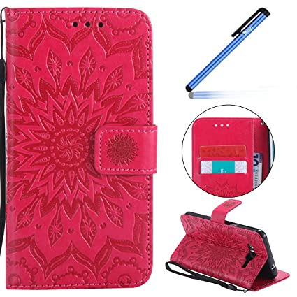 YSIMEE Funda Samsung Galaxy Grand Prime G530,Carcasa Libro ...