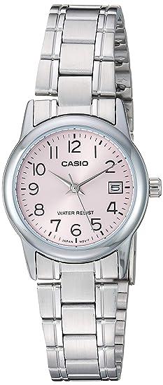 Amazon.com: Casio #LTP-V002D-4B - Reloj de pulsera para ...
