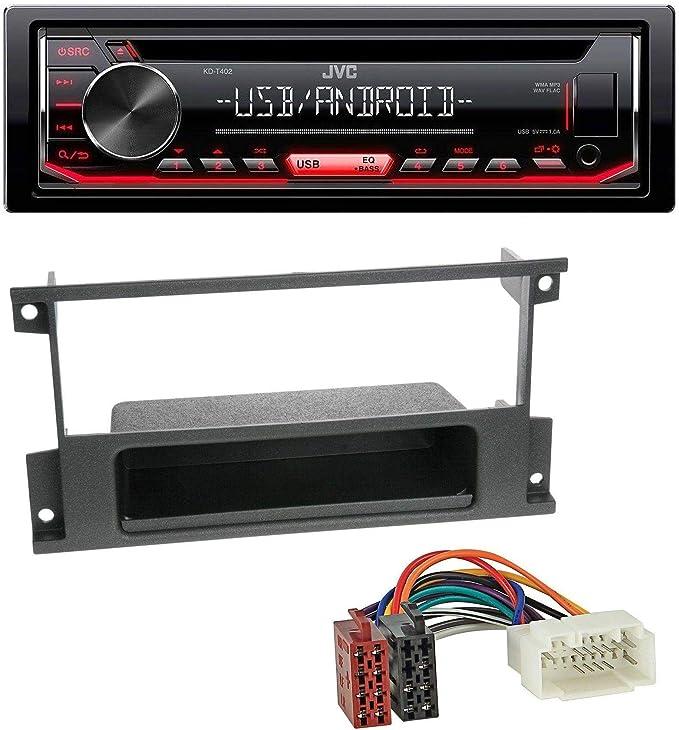 JVC KD-T402RADIOCDMP3USBAndroidLine OutAux-InAutoradio