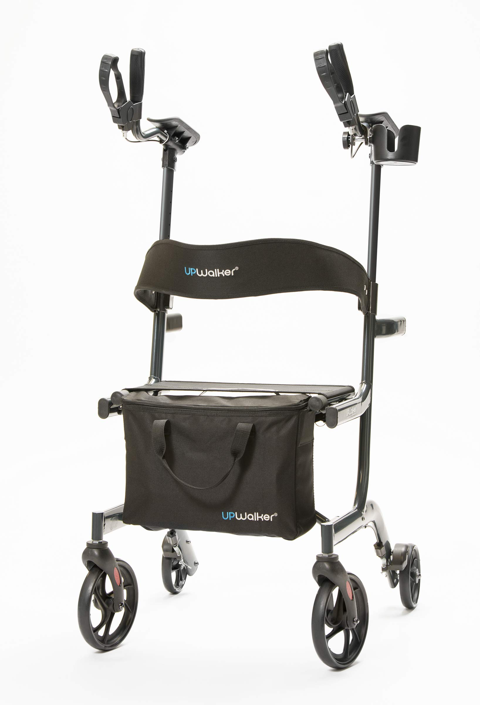 UPWalker Lite Original Upright Walker (Stand Up Rolling Mobility Walking Aid with Seat) by LifeWalker