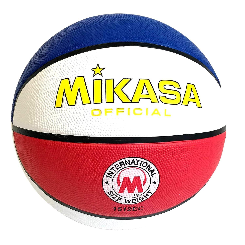 Mikasa 1512EC - Balón de Baloncesto Oficial (Talla 17,7-7,6 cm ...