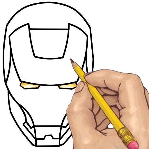 How to Draw: Superheroes (Best Iron Man Game For Android)