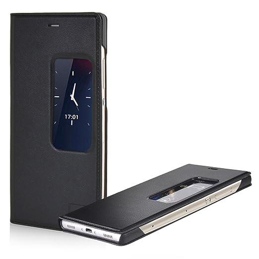 79 opinioni per MOONCASE Huawei P8 Case Custodia Flip Cover per Huawei Ascend P8 Premio PU in