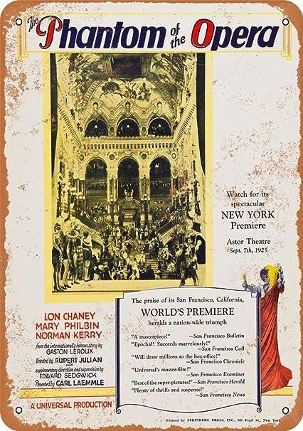Amazon.com: Ohuu Phantom of The Opera - Carteles de pared de ...