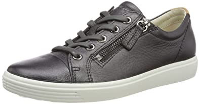 2944d333ec Amazon.com | ECCO Women's Soft 7 Ladies Low-Top Sneakers, (Black ...