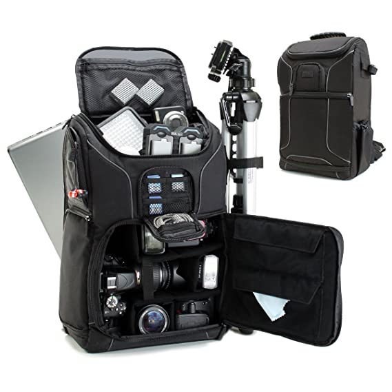 Amazon.com  Professional Camera Backpack DSLR Photo Bag with Comfort ... 0414f2f516081