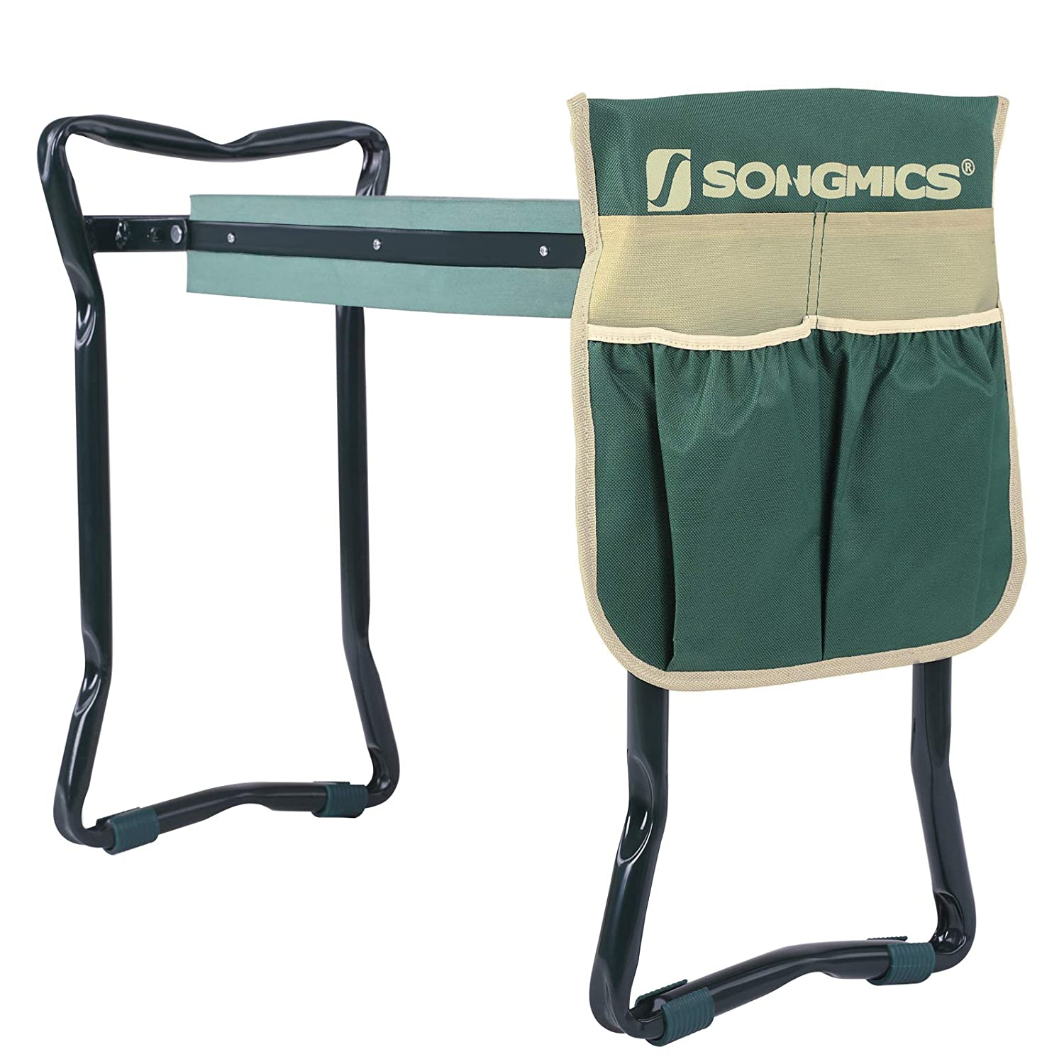 Admirable Songmics Foldable Kneeler And Garden Seat Portable Stool Cjindustries Chair Design For Home Cjindustriesco
