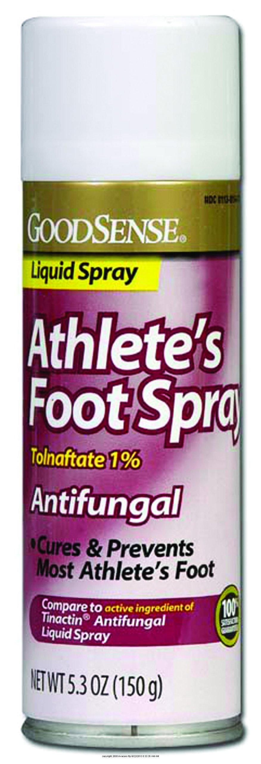Athlete's Foot Spray, Athletes Foot Spry 5.3oz, (1 EACH, 1 EACH) by Geiss Destin &dunn Inc